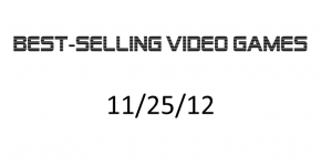 Best-Selling Video Games 11-25-12