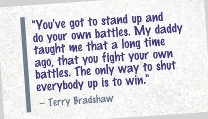 Bradshaw Quote