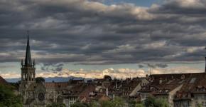 Bern über die Altstadt