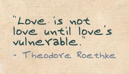 Roethke Quote