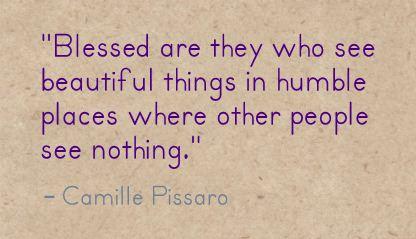 Camille Pissaro Quote