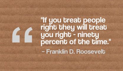 Franklin D. Roosevelt Quote