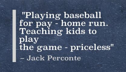 Playing baseball for pay – home run. Teaching kids to play the ...