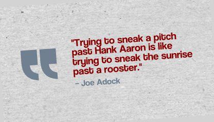 Joe Adock Quote