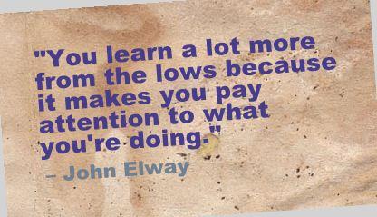 John Elway Quote