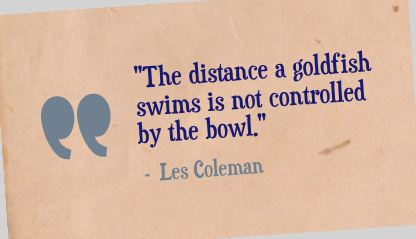 Les Coleman Quote